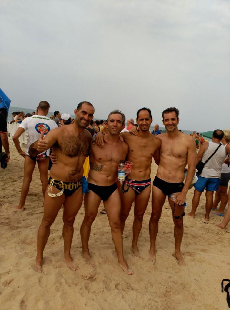 Travesía Playa de la Costilla y entrenamiento por parejas
