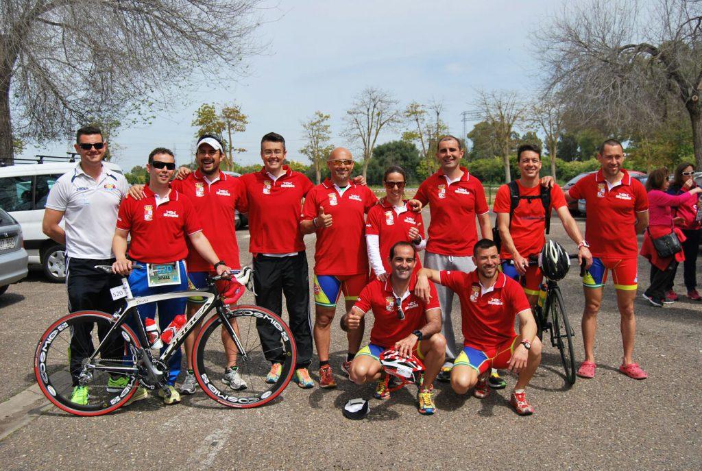 Inicio de la temporada con el DX2 Triatlón Sevilla