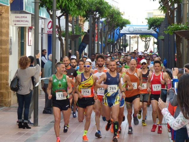 Segunda posición en la Media Maratón Costa de la Luz
